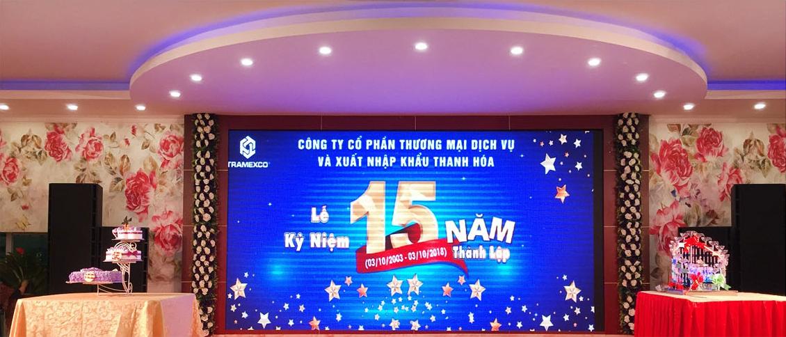 Công ty Tramexco Thanh Hóa tổ chức: Lễ kỷ niệm 15 năm ngày thành lập Công ty