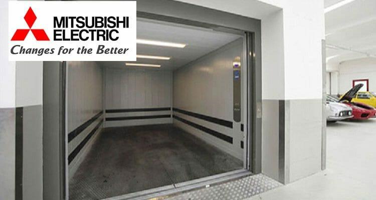 Vì sao nên chọn dòng thang máy tải hàng Mitsubishi ?