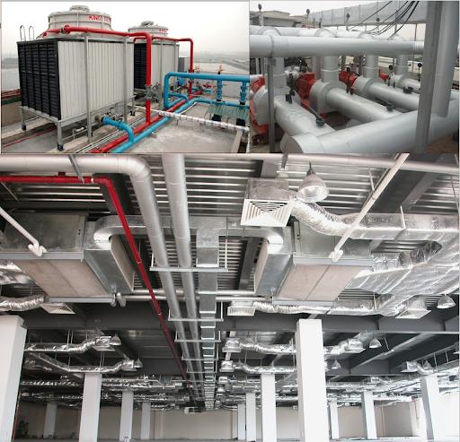 Tầm quan trọng của hệ thống thông gió tòa nhà hiện nay