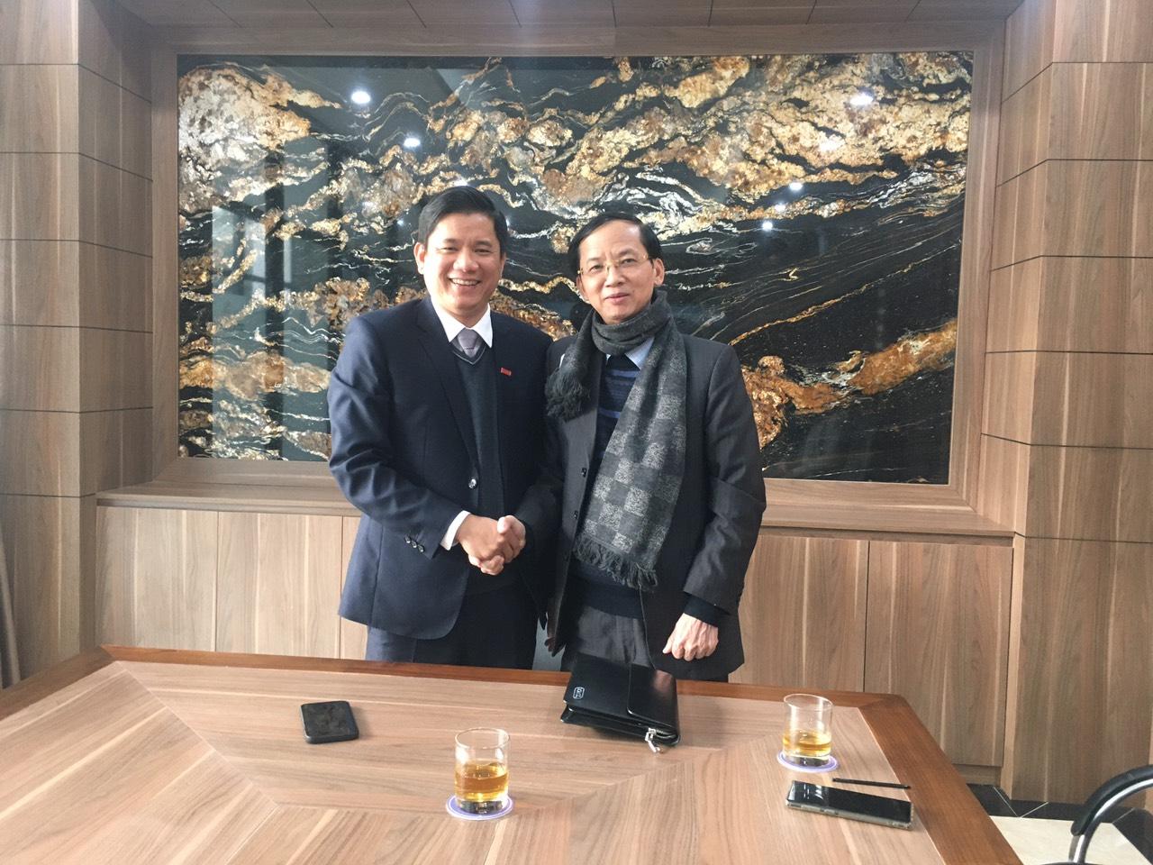 Gặp mặt đầu năm 2021 giữa Tramexco với VCCI Thanh Hóa
